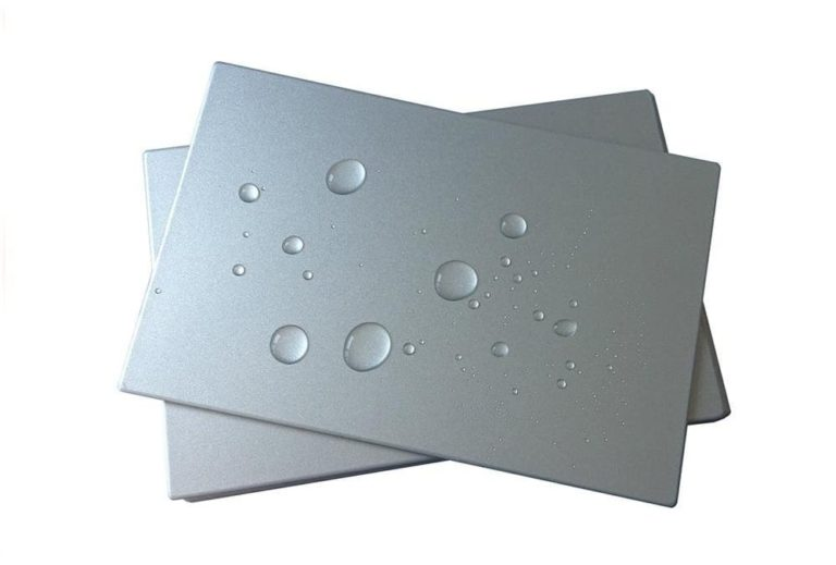 Aluminium Composite Panels With Self-Cleaning Properties